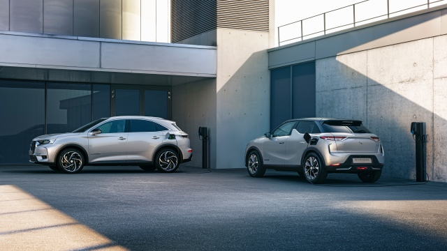 DS 7 CROSSBACK E-TENSE 4x4 and DS 3 CROSSBACK E-TENSE