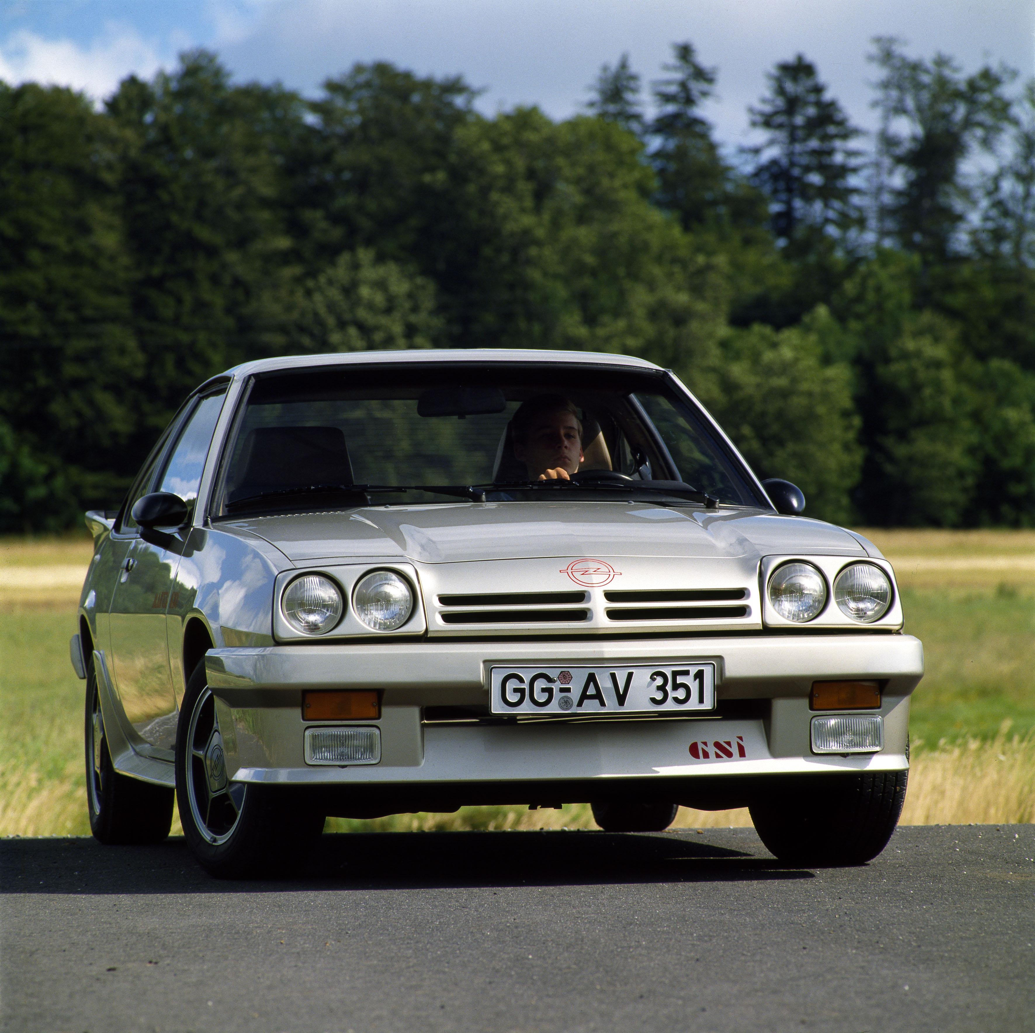 1987 Opel Manta GSi Exclusiv
