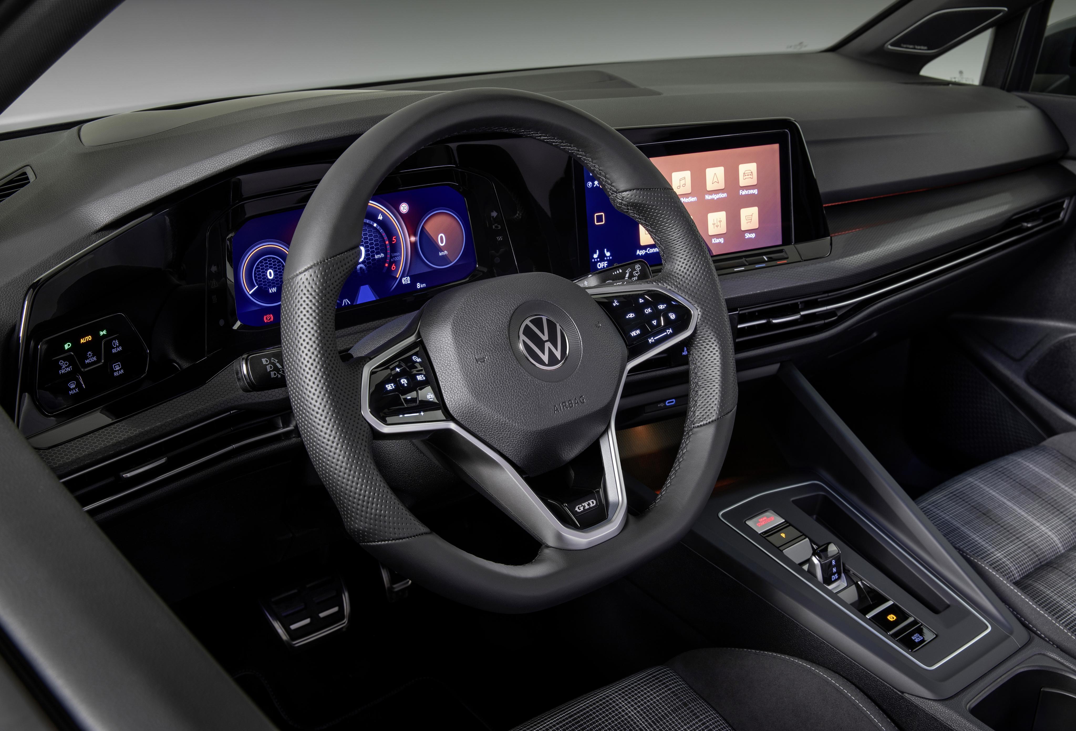 The new Volkswagen Golf GTD
