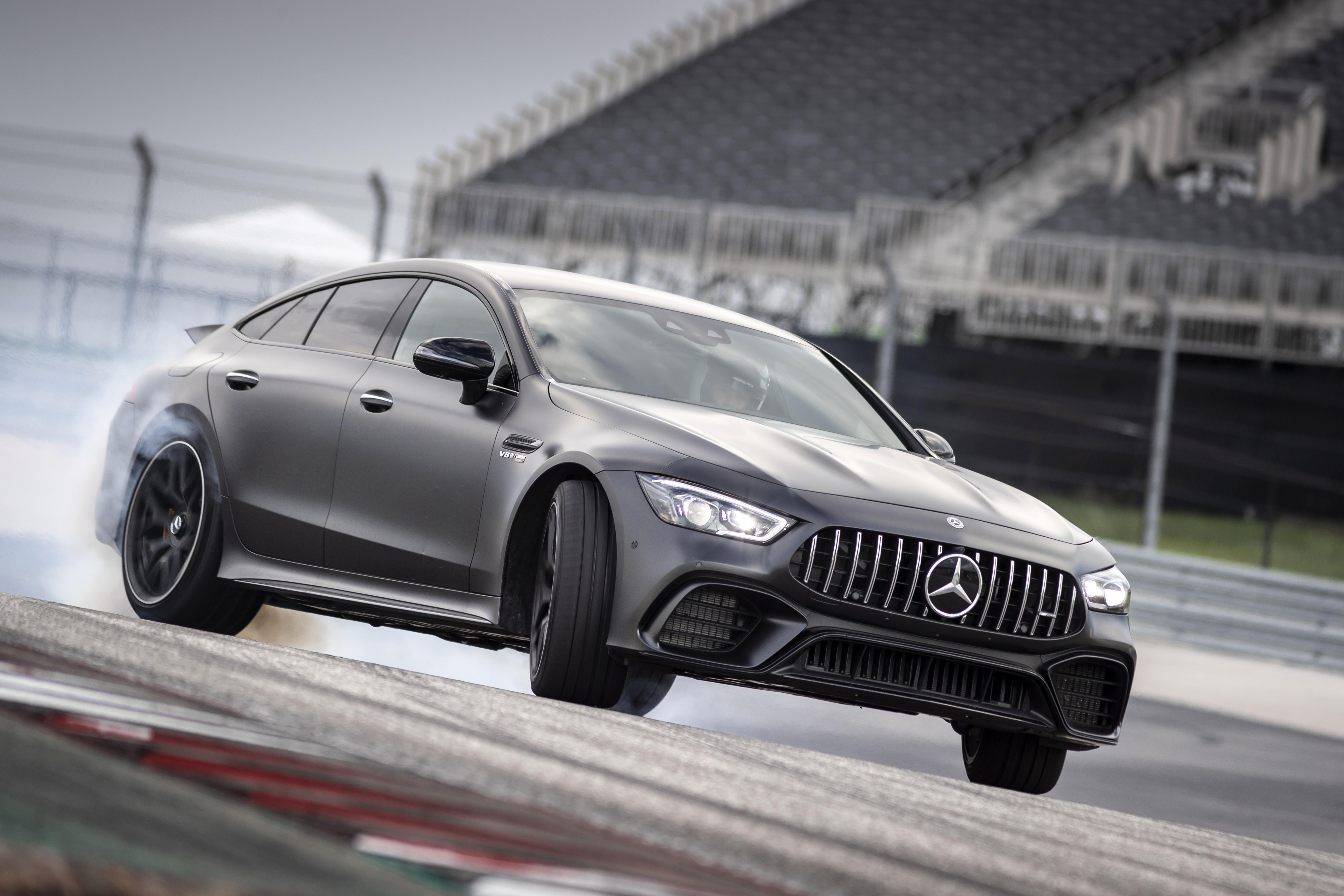 Mercedes-AMG GT 63 S 4MATIC+ 4-Door Coupé. Austin 2018  Mercedes-AMG GT 63 S 4MATIC+ 4-Door Coupé. Austin 2018
