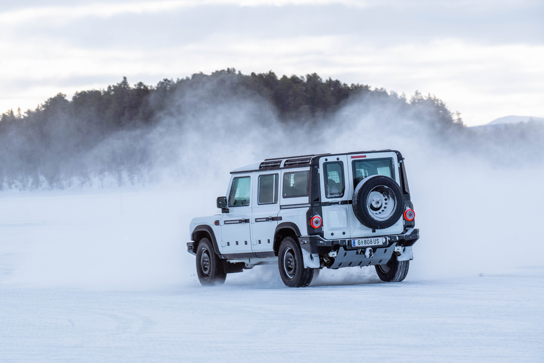 INEOS Grenadier Arctic Testing - Arjeplog - March 2021